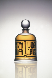Muscs Koublai Khan in the special, limited-edition bell jar bottle. Source: Serge Lutens Facebook page.