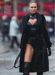 Photo: Photographer: Hans Feurer. Model: Candice Swanepoel. Vogue Australia June 2013. Source: Starstyle.com