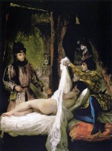 """""""Louis d'Orléans Showing his Mistress"""" by Eugène Delacroix. Source: Wikipedia"""