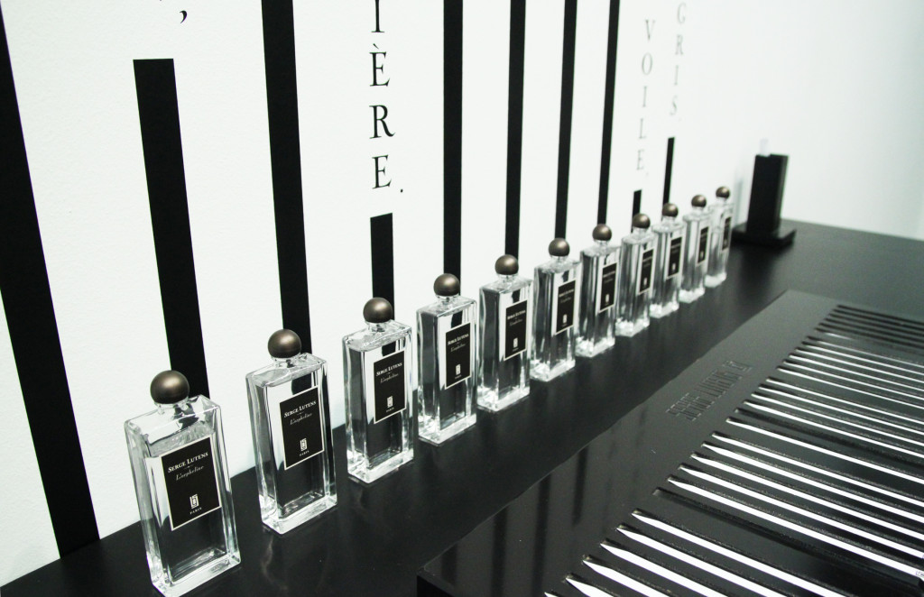 Regular bottles of L'Orpheline, now available in parts of Europe and from Serge Lutens, with a U.S. release date of September 2014. Source: http://grey-magazine.com/l-orpheline