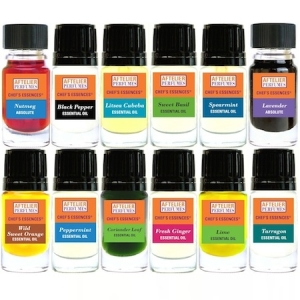 Gift Set of the Original Chef Essences Set, though there are far, far more now. Source: Aftelier