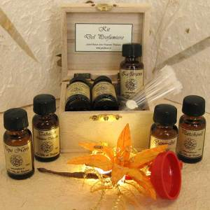 Basic Starter Perfumer's Kit where you choose the ingredients. Source: La Via del Profumo website.