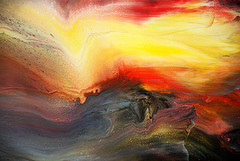 Painting by Mark Chadwick on Flickr. (Direct website link embedded within.)