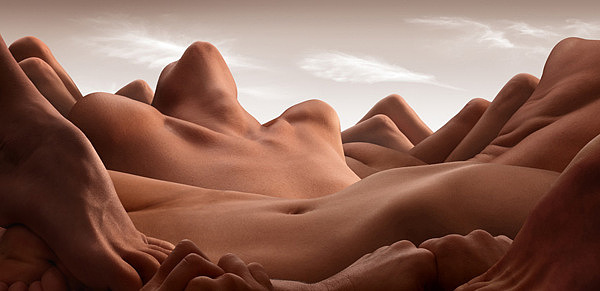 "Carl Warner, ""Bodyscape 1"" via www.carlwarner.com/bodyscapes/"