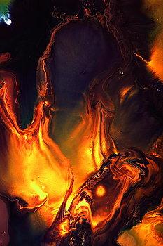 """Flames of Love By Kredart"" by Serg Wiaderny on Fine Art America. (Direct website link embedded within.)"