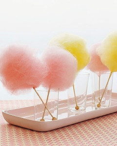 Cotton candy or candy floss. Source: marthastewart.com