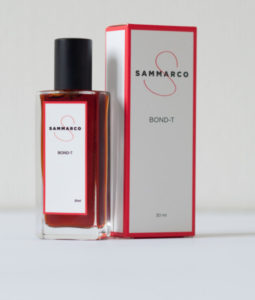 Sammarco Bond-T parfum. (I think this might be the old packaging, but I'm not certain.)