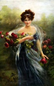 """Goddess of Summer,"" Zula Kenyon, 1910, via Pinterest."
