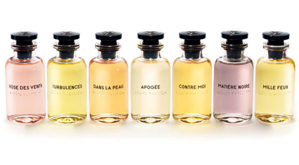 The Louis Vuitton Parfums collection. Source: nymag.com via Louis Vuitton. [Photo lightly cropped on top by me.]