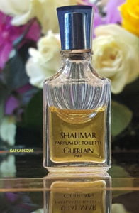 Vintage Shalimar Parfum de Toilette. Photo: my own.