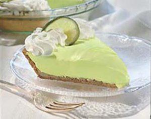 Key Lime Pie via recipeshubs.com