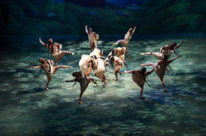 The Joffrey Ballet performing The Rite of Spring, similar to the famous 1913 Nijinsky version. Source: cleveland.com