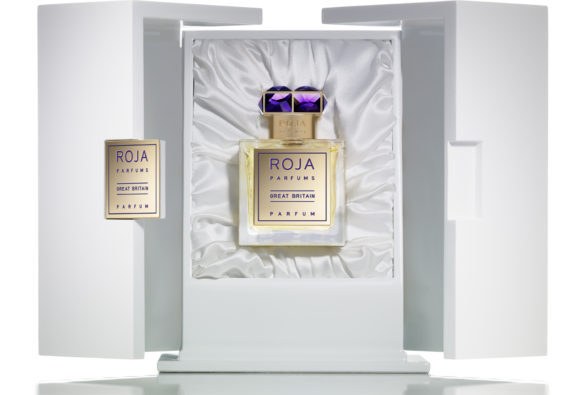 Great Britain in its presentation box. Source: Rojaparfums.com [Photo lightly cropped by me at the bottom.]