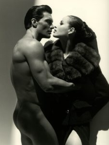 Photo: Herb Ritts for Valentino, 1995. Source: Pinterest.